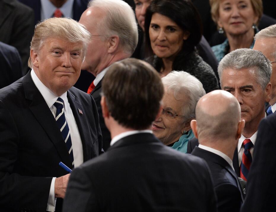 Así se despidió el presidente al terminar su presentación ante el congreso.