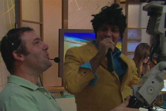 Ahora sí que Paul Stanley sorprendió a todos con su divertida imitación...