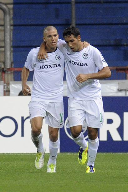 Pero más tarde, el Maccabi Haifa reaccionó al igualar.