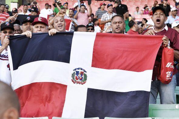Los dominicanos marcaron su primera carrera en la baja de la segunda ent...