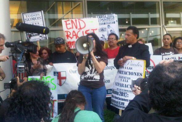 Protesta contra deportaciones en Illinois