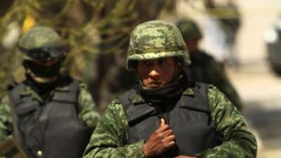 Militares en México.