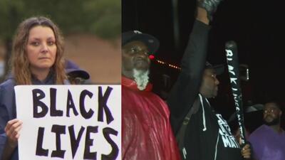 Bajo el lema 'Black Lives Matter', exigen justicia por muerte de joven a manos de policía de Dallas