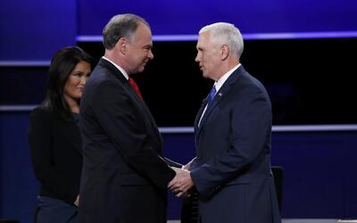 Tim Kaine vs Mike Pence