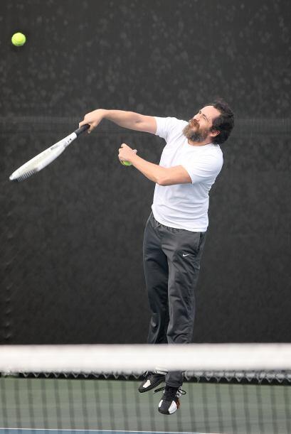 Demián demostró que también tiene muy buenas jugadas.