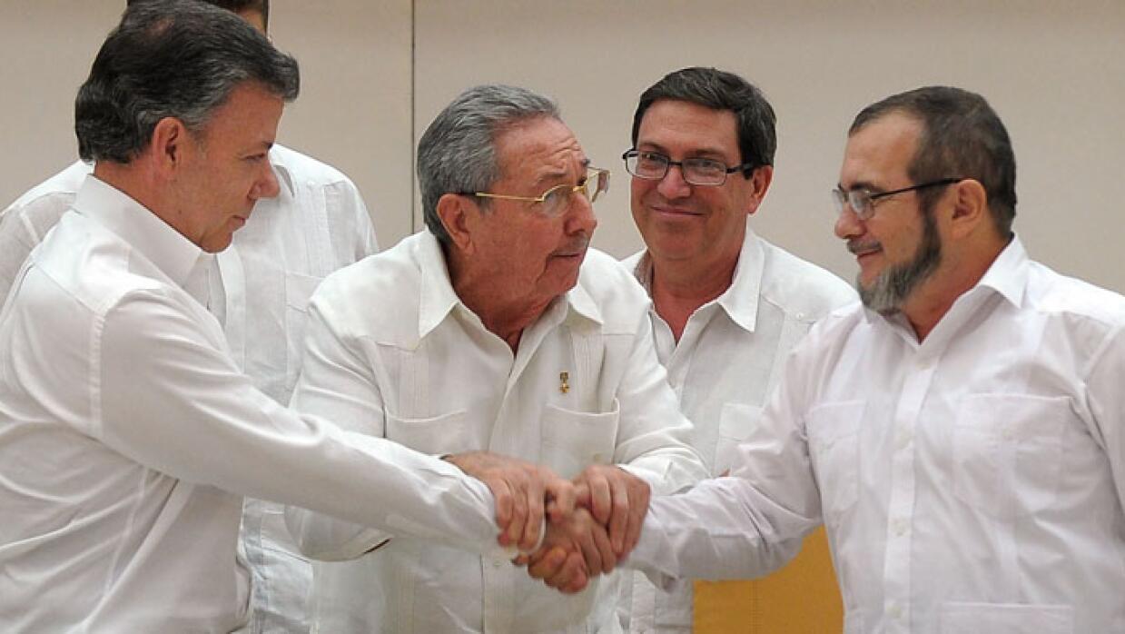 Gobierno de Colombia y las FARC logran acuerdo