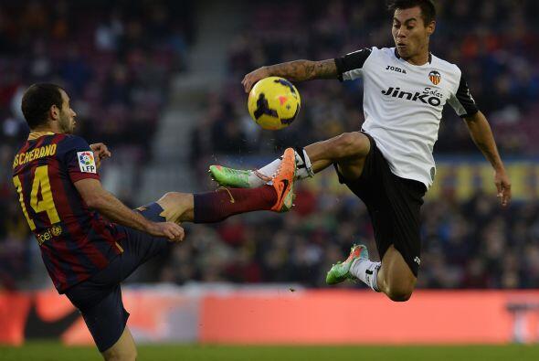 El Valencia defendió con todo esperando su momento.