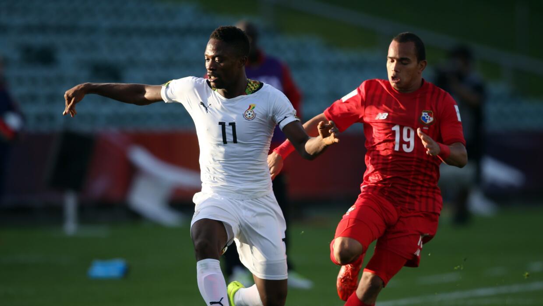 Ghana ganó por la mínima diferencia.