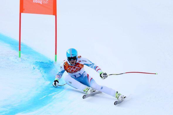 Mayer, de 23 años e hijo de, Helmunt, un subcampeón olímpico de supergig...