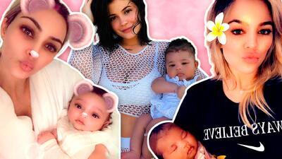Estas son las fotos más tiernas de los 'baby' Kardashian