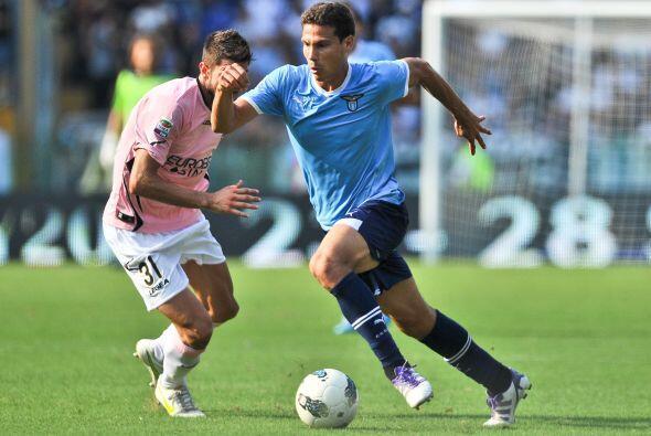 La Lazio chocaba con el Palermo en un duelo del que se esperaban algunas...