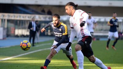 El exequipo de Rafael Márquez, Hellas Verona, humilla con goleada al Milan