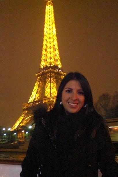 Maria Teresa Interiano, periodista de Escándalo TV viajó a...
