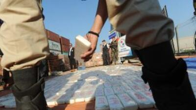 Las autoridades dominicanas confiscaron 112 paquetes de cocaína que iban...