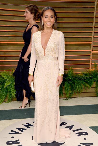 Jada Pinkett Smith, esposa del actor Will Smith, es una mujer que con ca...