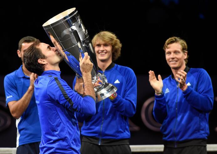 Europa se lleva la Laver Cup con un Federer inmenso gettyimages-85308744...