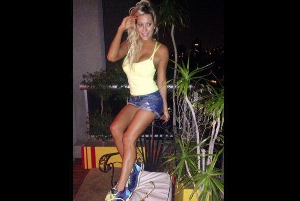 La modelo argentina Noelia Marzol ha revelado que el delantero Gonzalo H...