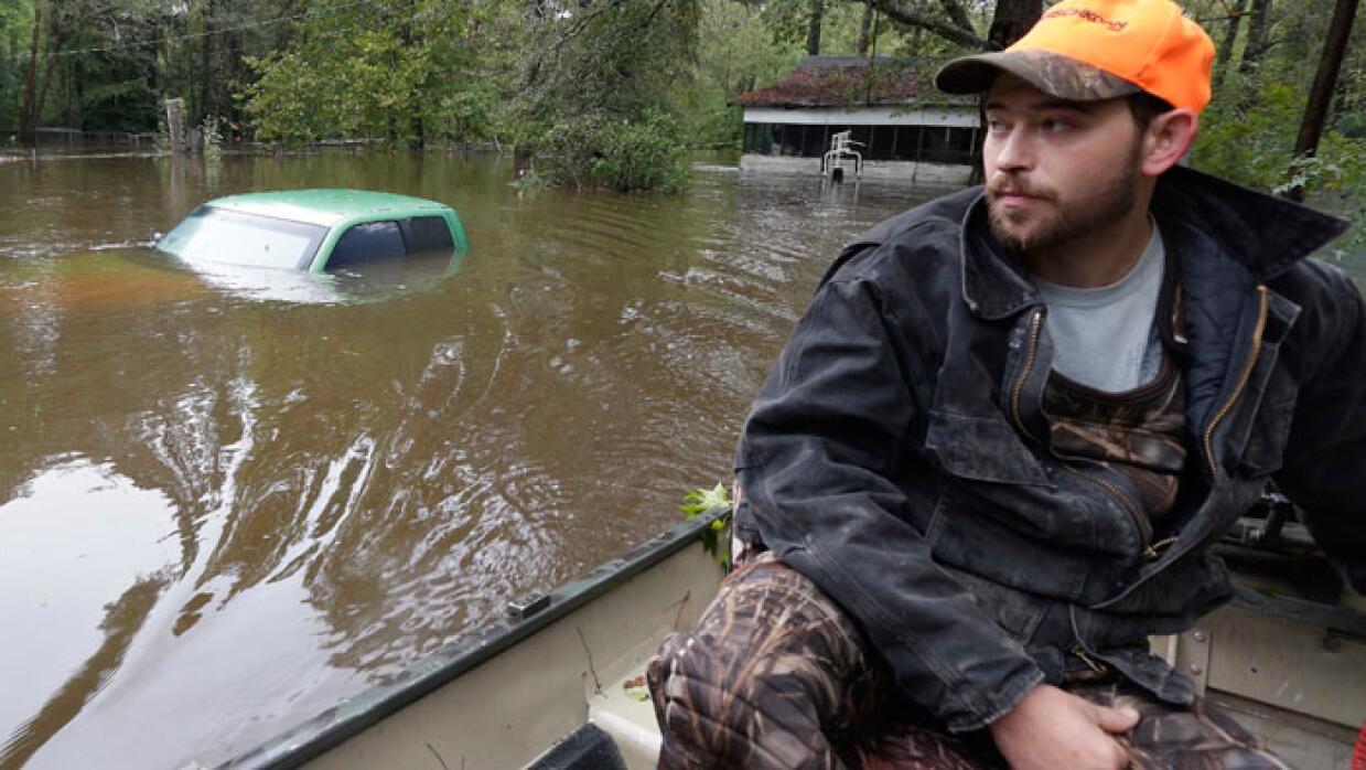 Inundaciones en la costa este de EEUU