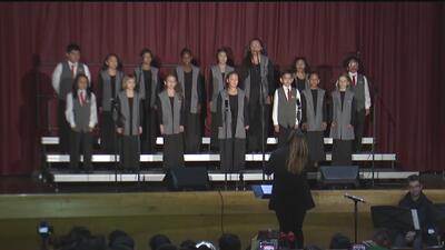 Con música clásica y afrolatina, el coro infantil de Pilsen y La Villita llena de orgullo a su comunidad