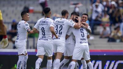 En fotos: Pumas da un golpe de autoridad para ponerse como escolta del líder en Liga MX