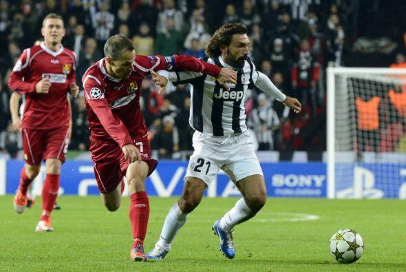 La Juventus visitó al, en teoría, sencillo equipo del Nordsjaelland danés.