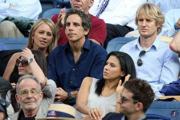 Ben Stiller asistió con su esposa y su amigo, el también c...