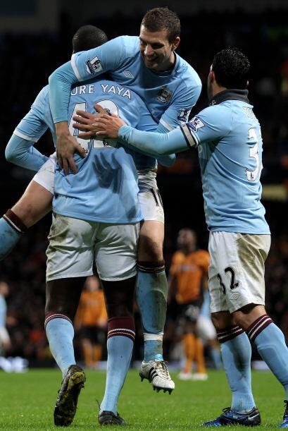 Manchester City ganó un partido muy duro ante el Wolverhampton por 4 a 3...