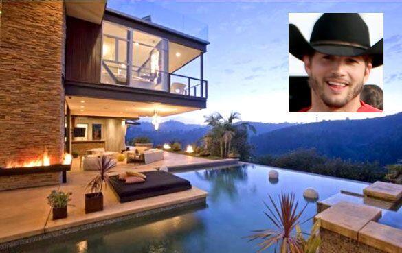 Antes de que se fuera a vivir con Mila Kunis, el actor tenía una casa de...