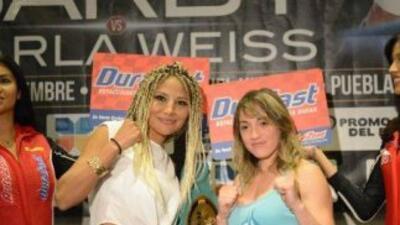"""Barby"" Juárez y argentina Weiss prometen pelea espectacular (Foto: Face..."