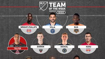 David Villa, 'Kaku' Romero Gamarra y Ronald Matarrita comandan el Equipo de la Semana en MLS