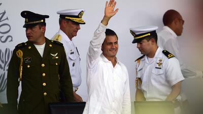 Enrique Peña Nieto visita por primera vez Iguala, Guerrero