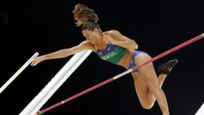 Murer entró en la historia del deporte brasileño con el primer oro para...