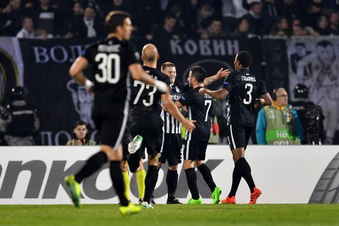 Partizan 2-0 Skenderbeu: el equipo serbio llegó a 5 puntos y se puso seg...
