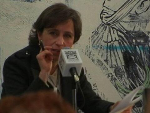 La reportera mexicana Carmen Aristegui afirmó este miércol...