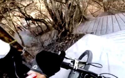 Imágenes de la competencia de ciclismo extremo 'Down Puerto Vallarta' en...