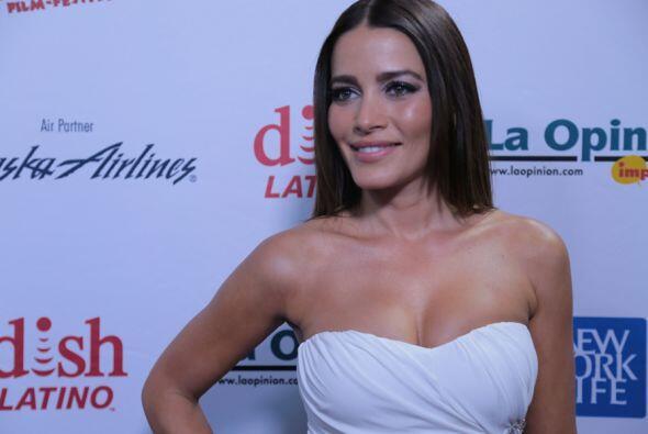 La bella Adriana Fonseca..