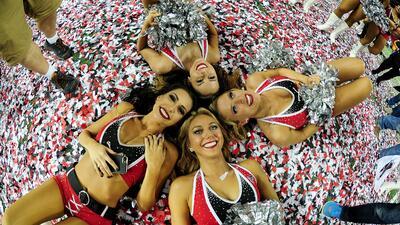 El espectáculo fuera de competencia en las finales de la NFL
