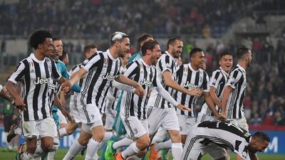 En fotos: la Juventus goleó al Milan y se coronó campeón de la Copa Italia