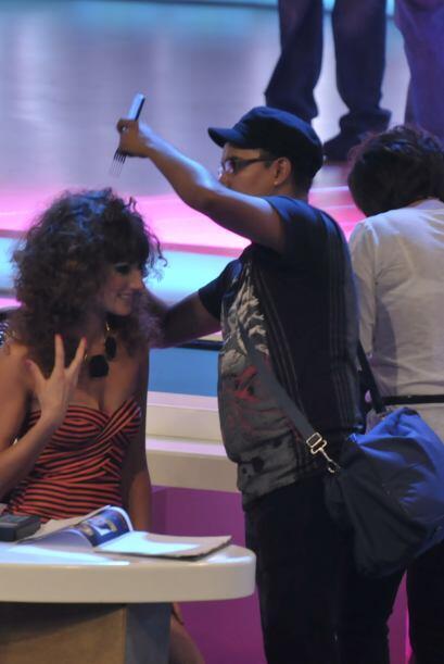 Aunque ya es muy hermosa, Raquel Ortega siempre se preocupa hasta por el...