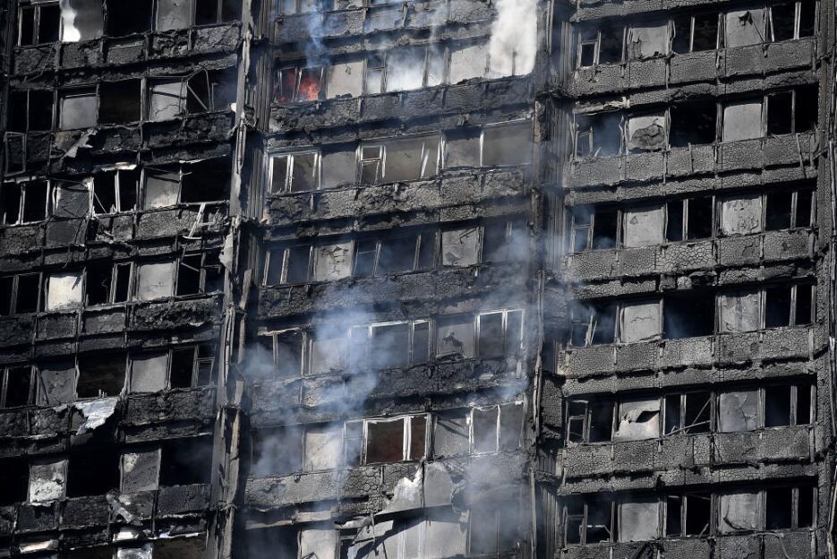 Una triste imagen a media mañana en Londres que retrata los estragos cau...