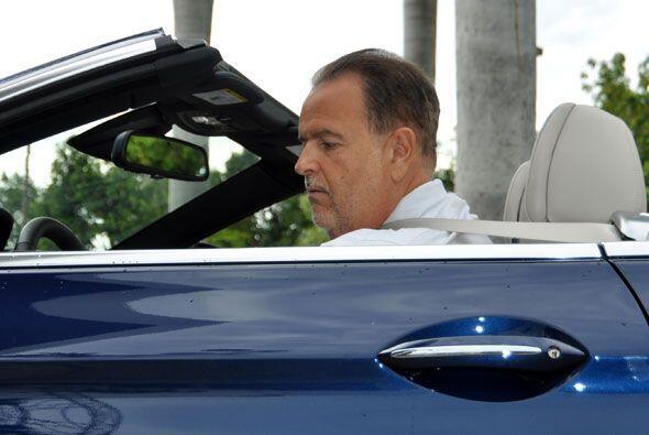 Su pasión por los autos nació en Madrid, España.