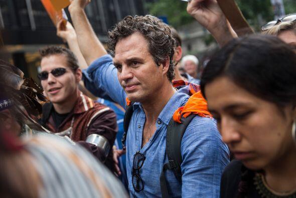 El actor Mark Ruffalo.