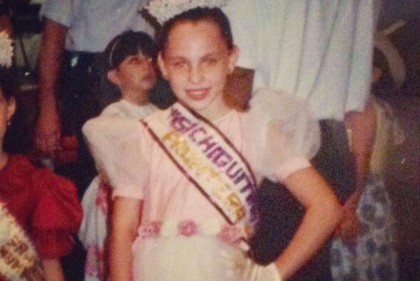 Desde pequeña soñaba con ser famosa.