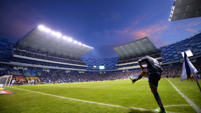 vista interior del estadio Cuauhtémoc