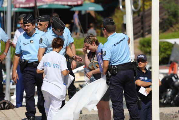 La víctima se encontraba de luna de miel y su esposa estaba en la playa,...