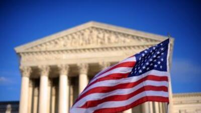 La Corte Suprema de Justicia de Estados Unidos.