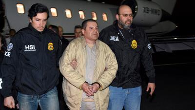 El 'Chapo' Guzmán vuelve a la corte de Brooklyn para enfrentar acusaciones por narcotráfico