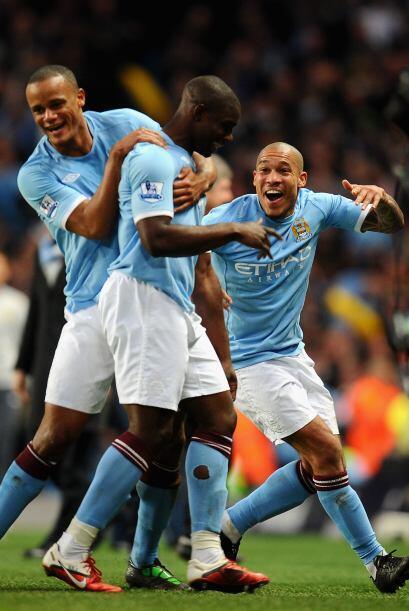 El Manchester City avanzó a las semifinales de la FA Cup al vencer 1-0 a...