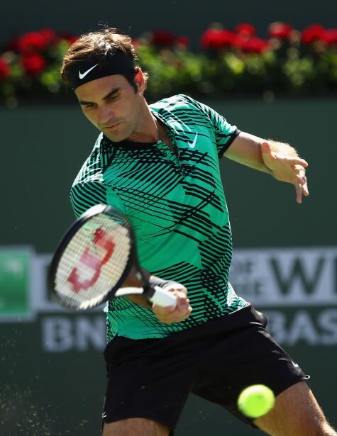 Roger Federer gana la segunda gran cita de la temporada con el título de...
