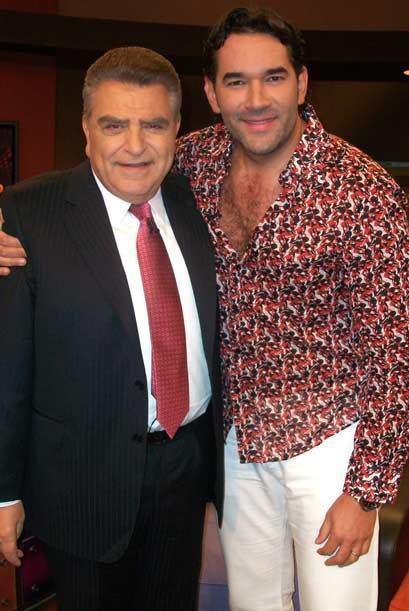 Eduardo Santamarina también visita al Don para hablar a corazón abierto.